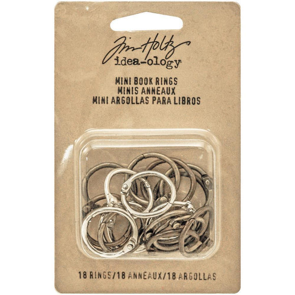 Tim Holtz - Mini Book Rings