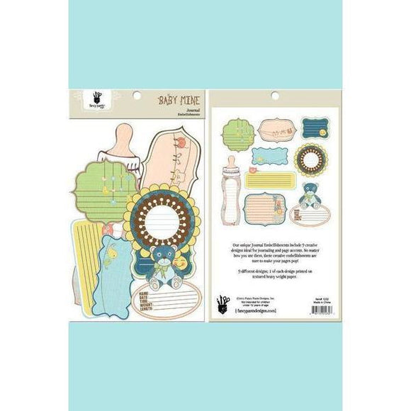 Fancy Pants Designs - Baby Mine Journal Embellishment