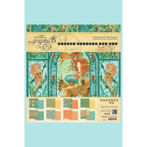 Graphic 45 - voyage Beneath the Sea - Card Stock