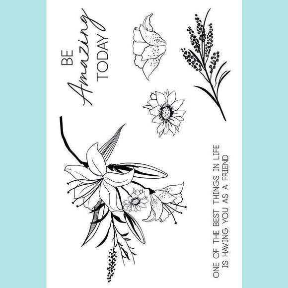 Kaisercraft - Lily & Moss Collection - Clear Acrylic Stamps