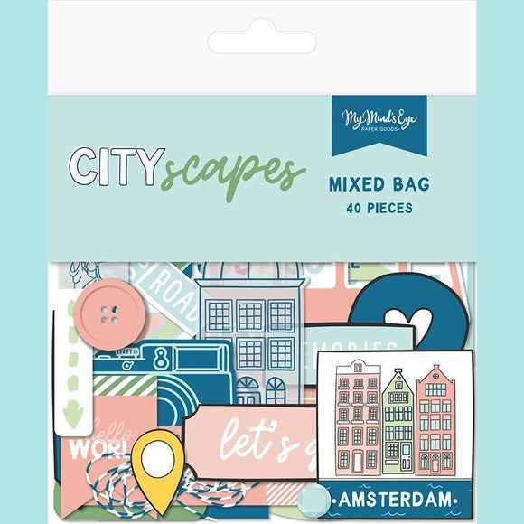 My Mind's Eye - Cityscapes Collection - Ephemera - Mixed Bag