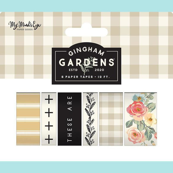 My Mind's Eye - Gingham Gardens Collection - Washi Tape