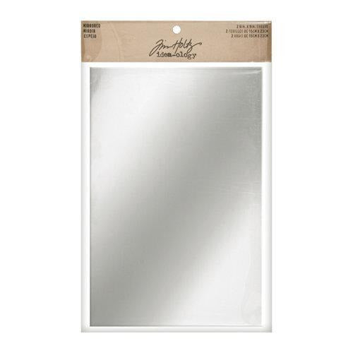 Tim Holtz -  Adhesive Mirrored Sheets