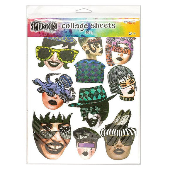 Ranger - Dylusions Collage Sheets Sets