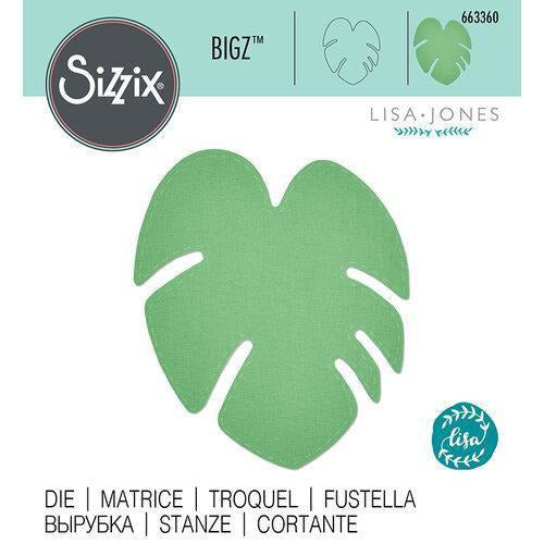 Sizzix Bigz Die - Tropical Leaf