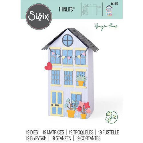 Sizzix Thinlits Die Set 19PK - No Place Like Home
