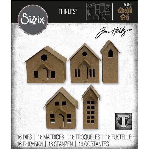 Sizzix Thinlits Die Set 16PK - Paper Village