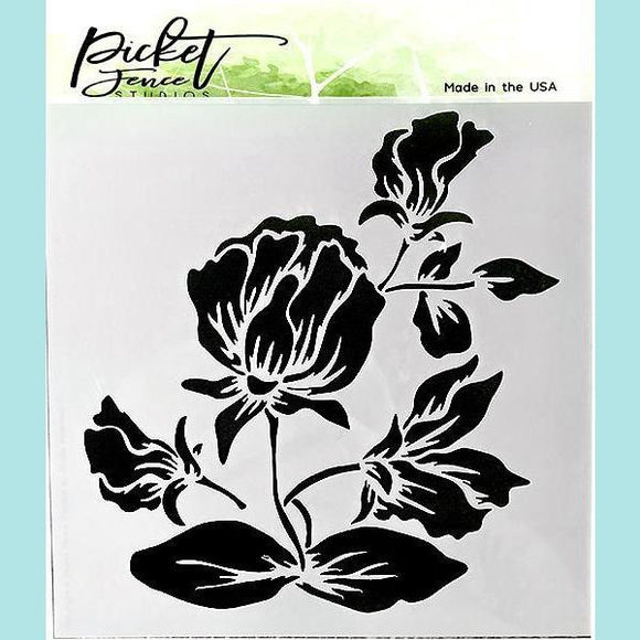 Picket Fence Studios - Shading Flower