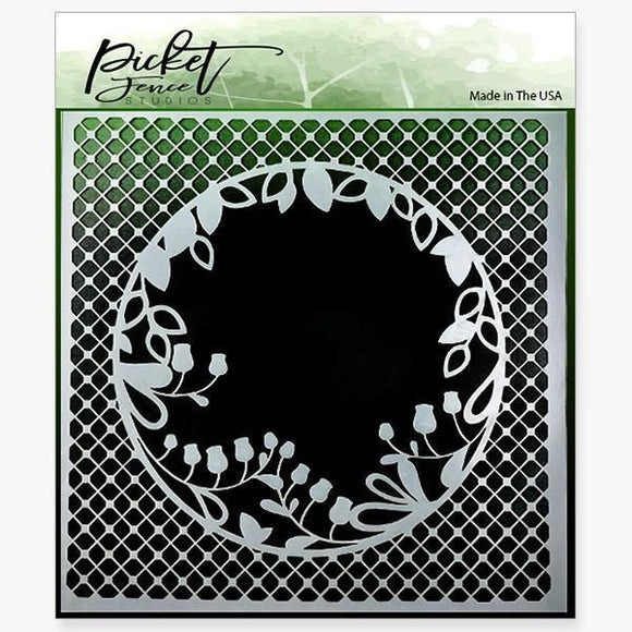 Picket Fence Studios - Peek A Boo Stencil