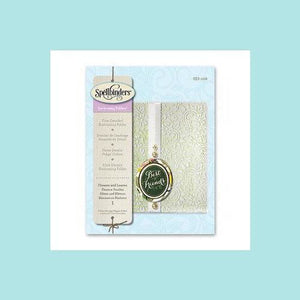 Spellbinders - Em-bossing Folders Flowers & Leaves
