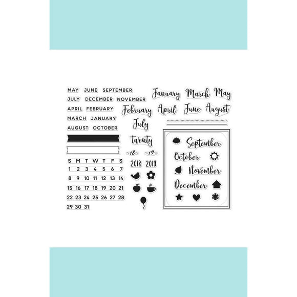 Hero Arts-  Calendar Mini Kit Stamp SK100