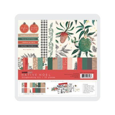 Kaisercraft - Kaiser Scrapbook Kit - Native Noel