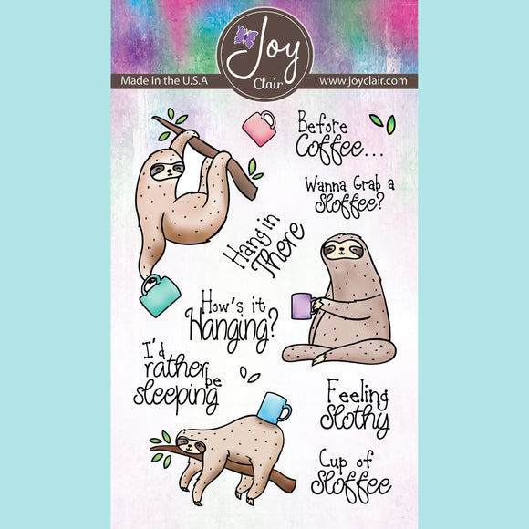 Joy Clair - Feeling Slothly Clear Stamps