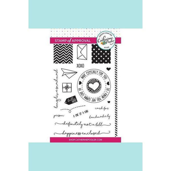 Catherine Pooler Happiness Enclosed Stamp Set