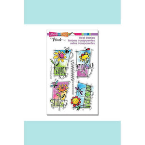 Stampendous - Window Messages Perfectly Clear Stamps