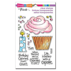 Stampendous - POP Cupcake Perfectly Clear Stamps Set