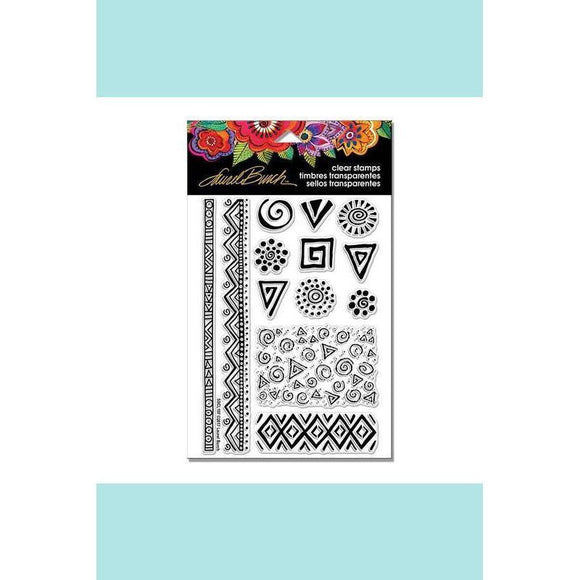 Stampendous - Laurel Burch Icons Perfectly Clear Stamps