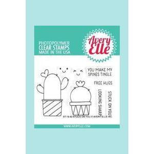 Avery Elle - Stuck On You Clear Stamps and Dies