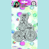 Art by Marlene - Signature Collection 2.0 - Chubby Chicks - On A Bike 15