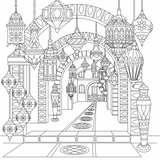 KaiserCraft - Kaisercolour Desert Nights Colouring Book