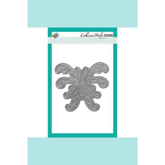 Catherine Pooler Scroll Butterfly Dies