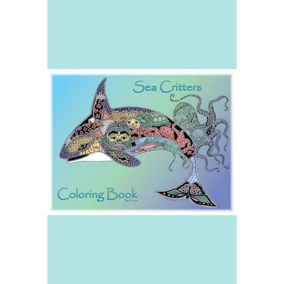 Earth International Sue Coccia - Sea Critters Coloring Book