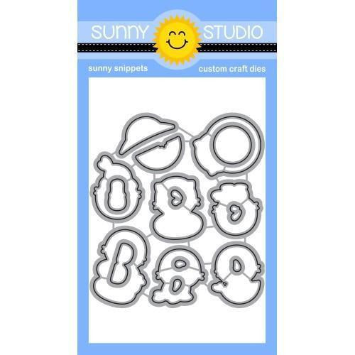 Sunny Studio Stamps - Sealiously Sweet Dies