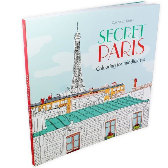 Secret Paris by Zoé de Las Cases - Colouring Book