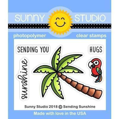 Sunny Studio Stamps - Sending Sunshine - Stamp and Dies