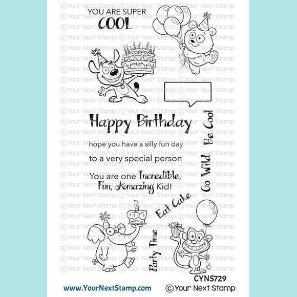Your Next Stamp - YNS - Silly Fun Birthday Stamps and Dies