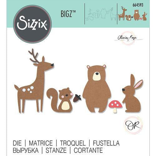 Sizzix - Bigz Die - Forest Friends