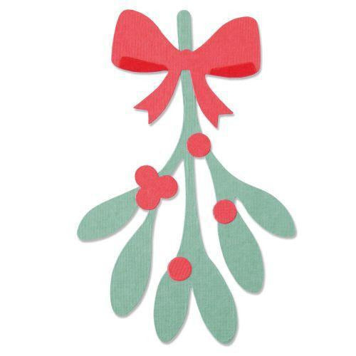 Sizzix - Bigz Die - Mistletoe Leaves