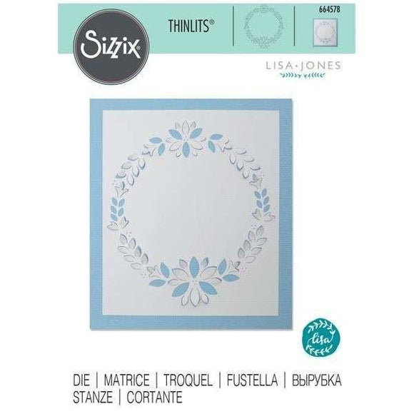 Sizzix Thinlits Die - Cut-Out Wreath