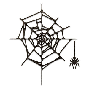 Sizzix - Thinlits Die Set 2PK - Spider Web by Tim Holtz