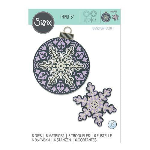 Sizzix - Thinlits Die Set 6PK - Layered Snowflake