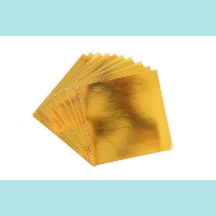 Sizzix Surfacez - Aluminum Metal Sheets GOLD