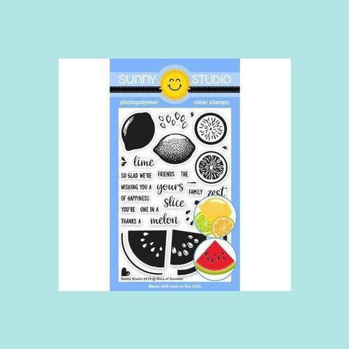 Sunny Studio Stamps - Slice of Summer - Stamp and Dies