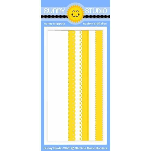 Sunny Studio Stamps - Slimline Basic Borders