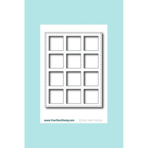 Your Next Stamp - So Many Squares Panel Die