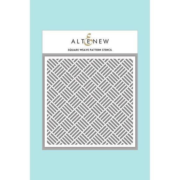 Altenew - Square Weave Pattern Stencil