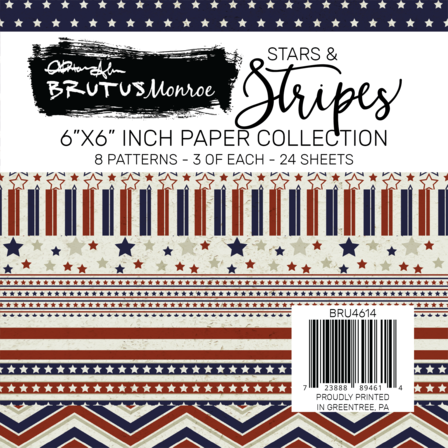 Brutus Monroe -Stars and Stripes Paper Pad