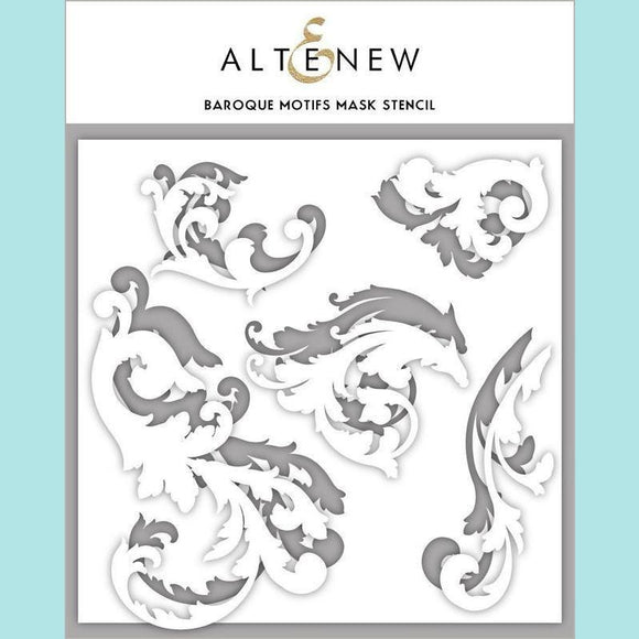 Altenew - Baroque Motifs Mask Stencil