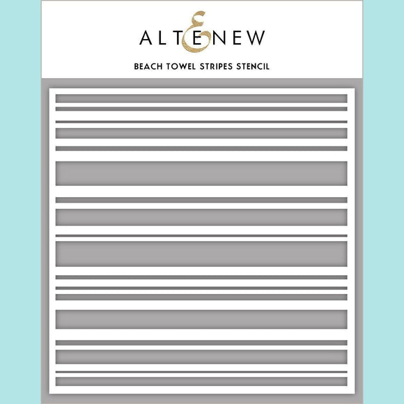 Altenew - Beach Towel Stripes Stencil