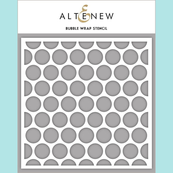 Altenew - Bubble Wrap Stencil