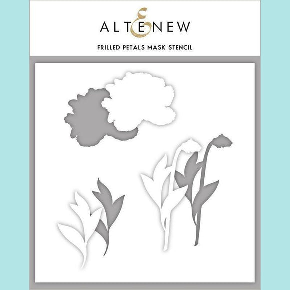 Altenew - Frilled Petals Mask Stencil