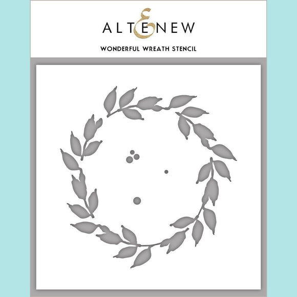 Altenew - Wonderful Wreath Stencil