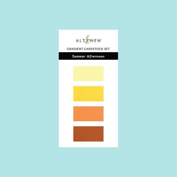 Altenew Gradient Card Stock Set - Summer Afternoon