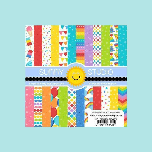 Sunny Studio Stamps - Surprise Party Paper