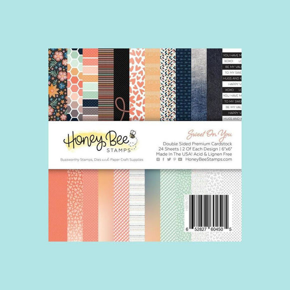 Honey Bee - Paper Pad 6x6 | 24 Double Sided Sheets | Sweet On You