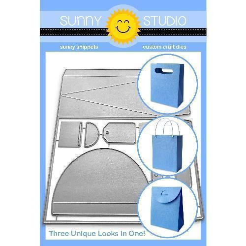 Sunny Studio Stamps - Sweet Treat Bag Die